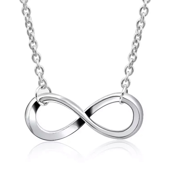 Jewelry - Silver Infinity Necklace
